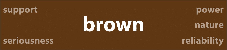 Psychology of Color Brown