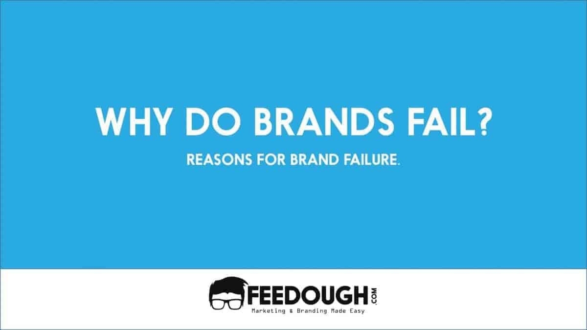 brand failures Overview product and brand failures occur on an ongoing basis to varying degrees within most product-based organizations this is the negative aspect of the development and marketing process in most cases, this failure rate syndrome ends up being a numbers game.