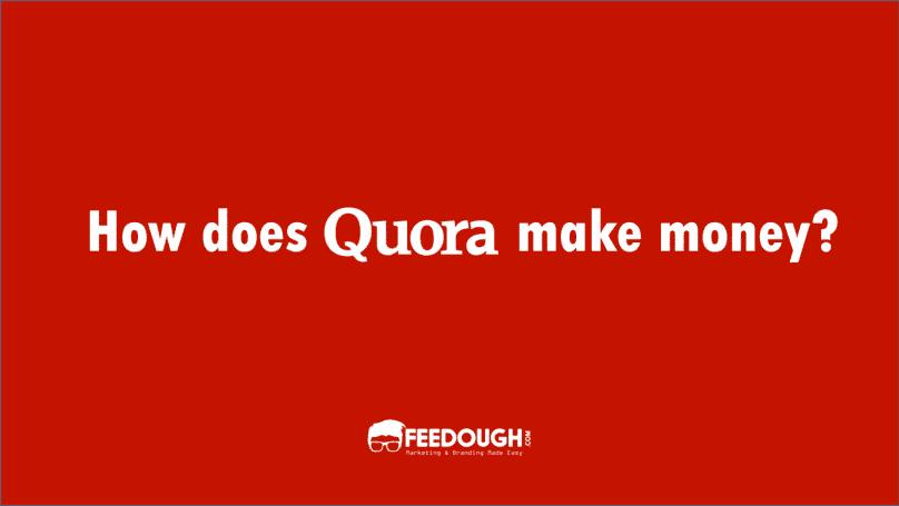 quora business model