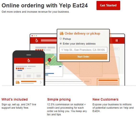 yelp commande en ligne comment yelp gagne-t-il de l'argent