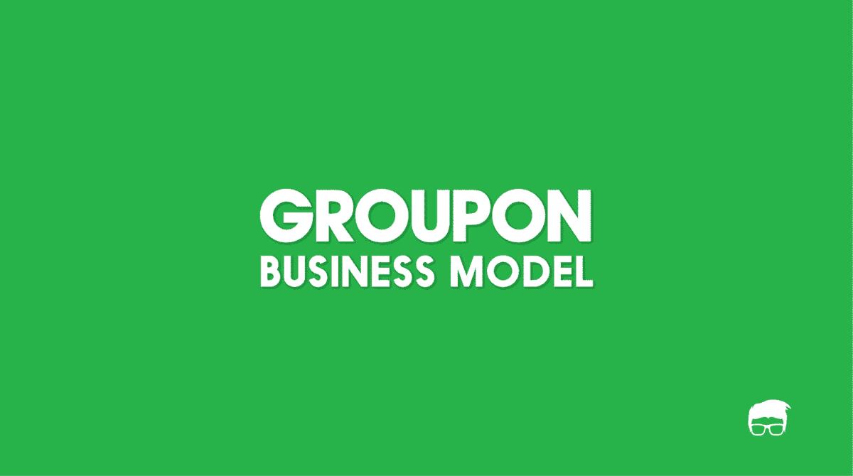 groupon business model