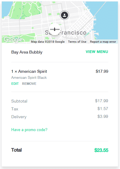 postmates delivery