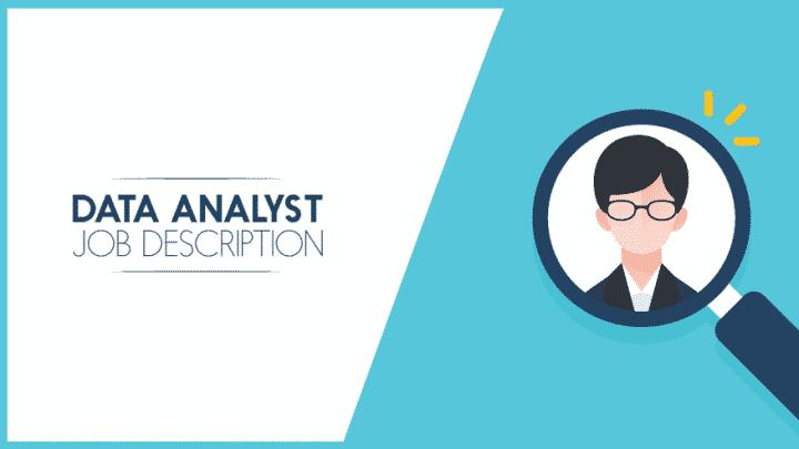 Data analyst job description