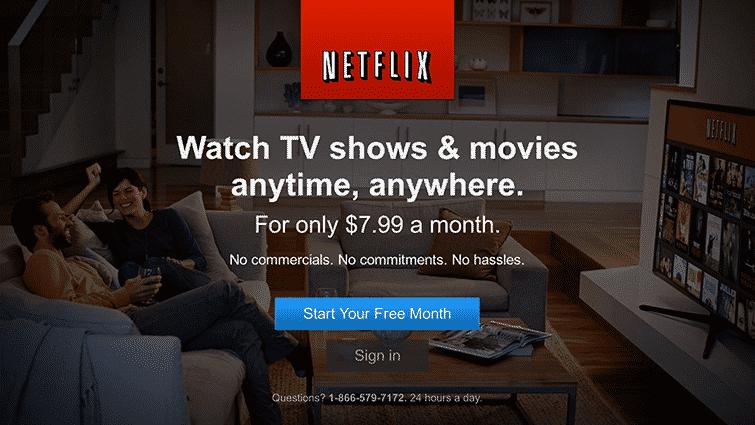 Watch anywhere you go Netflix
