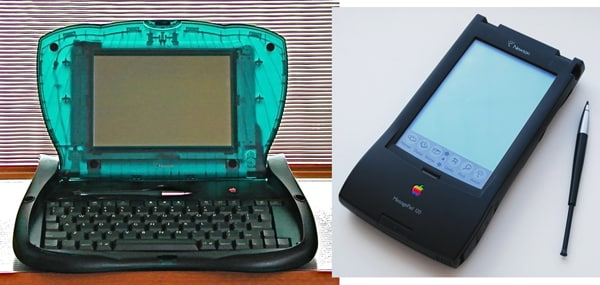 The eMate and the Newton MessagePad