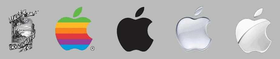 History of apple logo