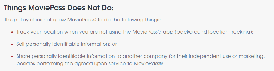 how does moviepass make money