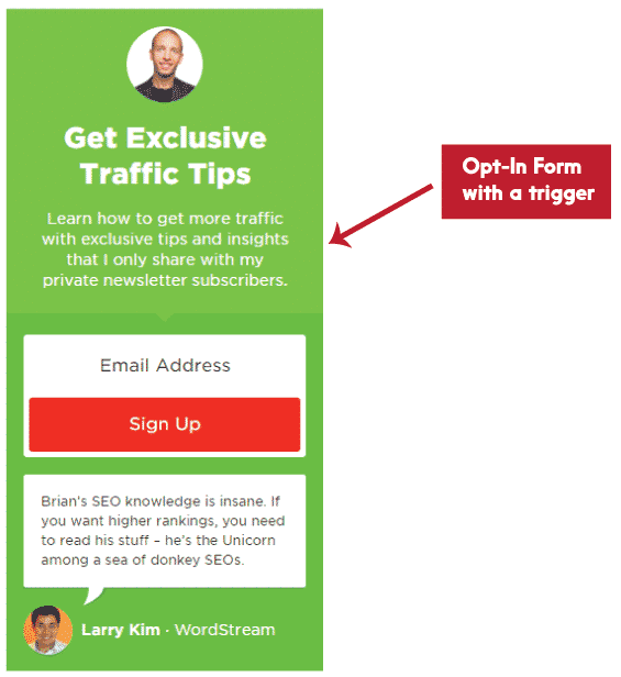 opt-in-form
