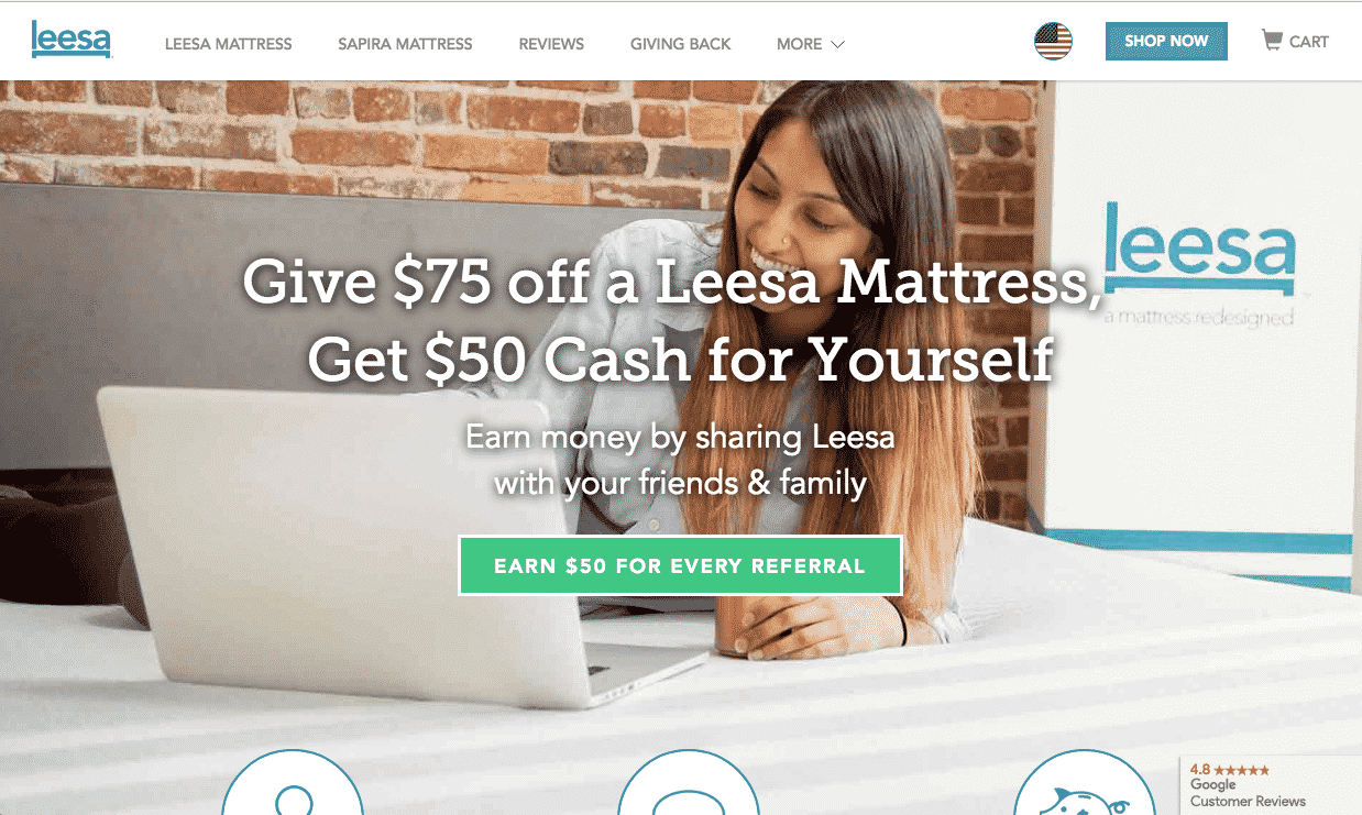 Leesa referral