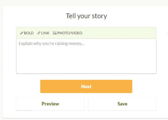 gofundme campaign details