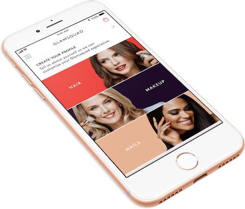 on demand beauty app