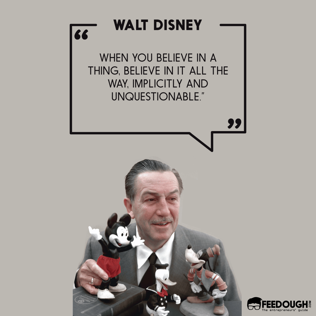 walt disney startup quote