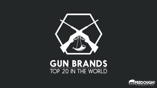 Top 20 Gun Brands In The World 2