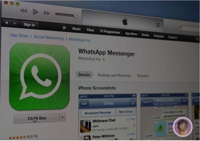 whatsapp cost