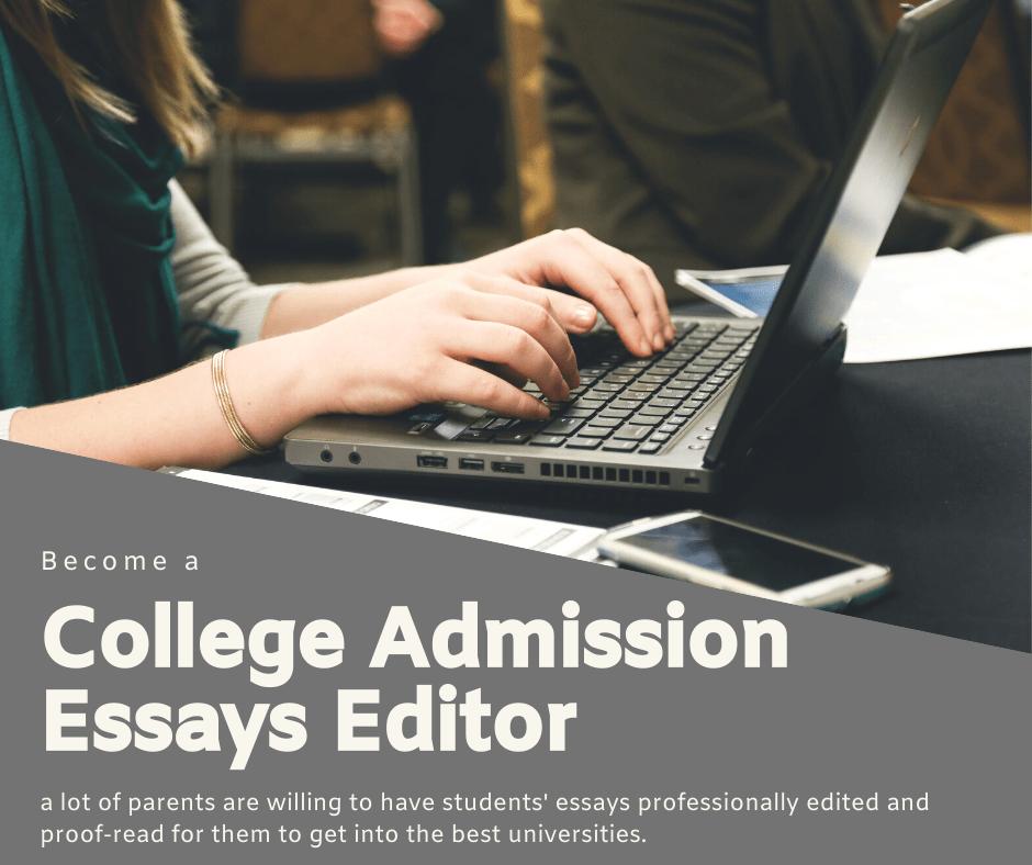 Editing College Admission Essays