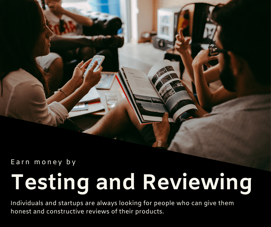 testing and reviewing
