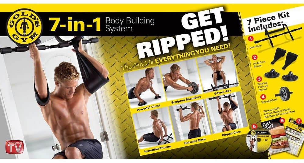 Gold's Gym 7-in-1 Body Building System