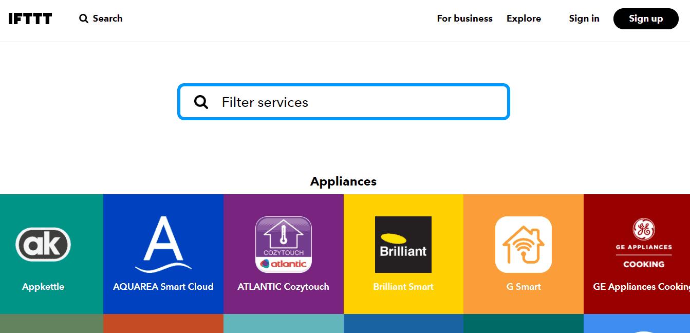 ifttt services
