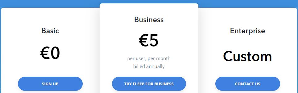 fleep pricing