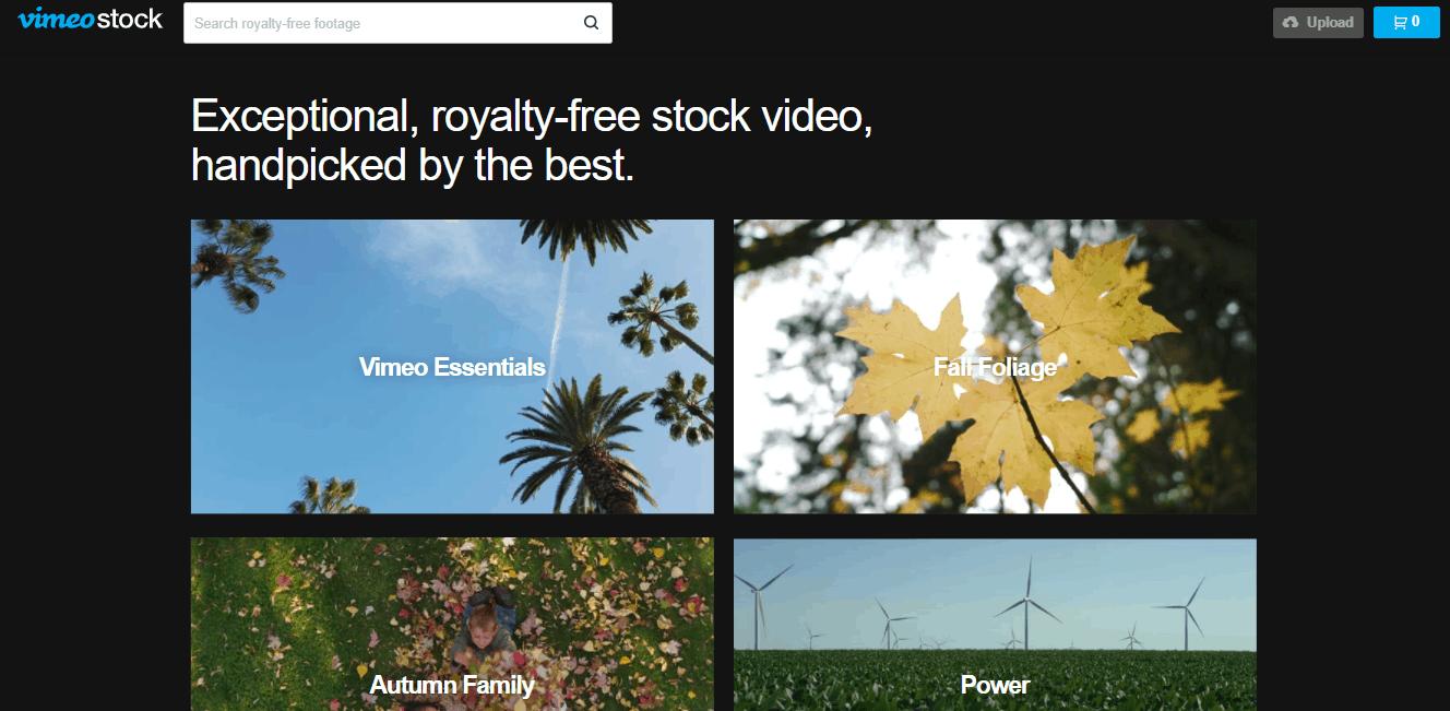 vimeo stock