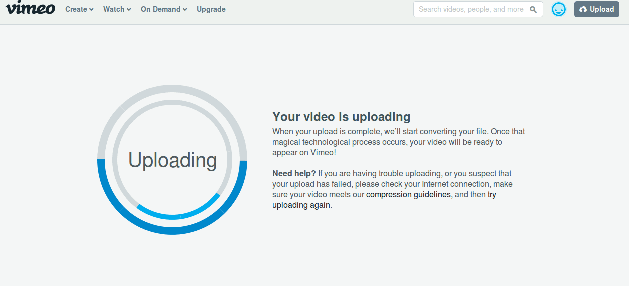 how vimeo works