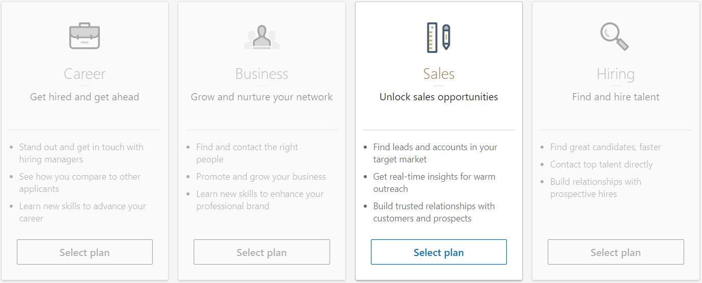 linkedin sales plan
