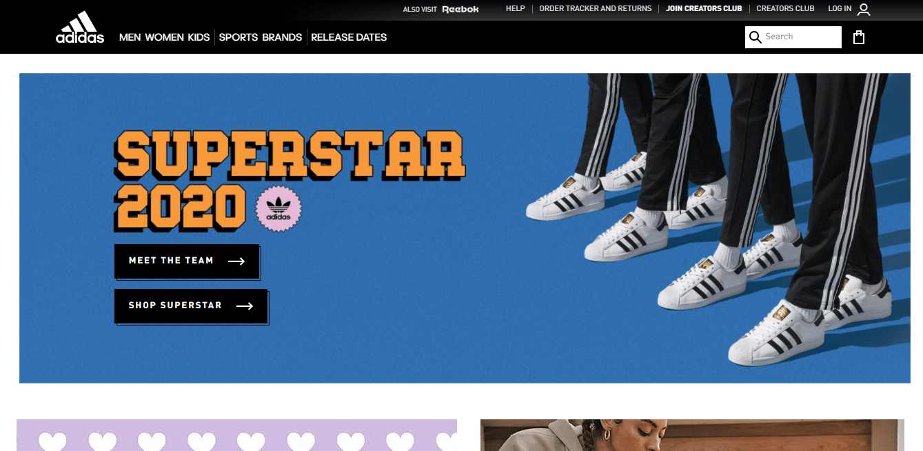 adidas site
