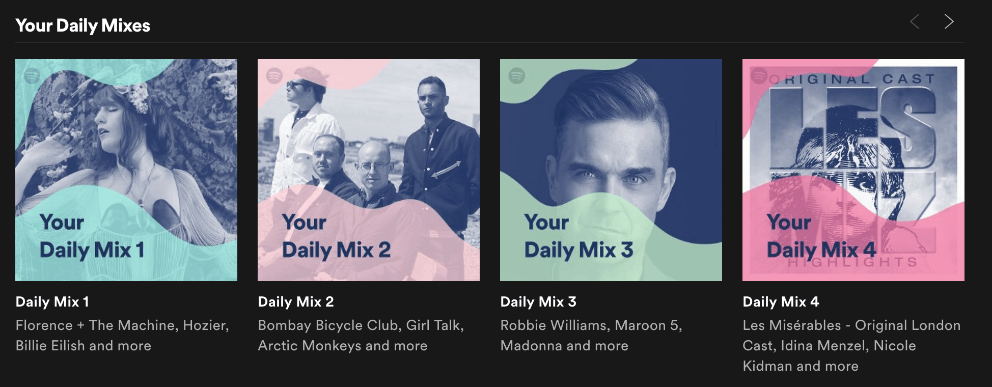 SPOTIFY SUGGESTIONS