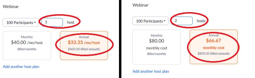 zoom webinar pricing