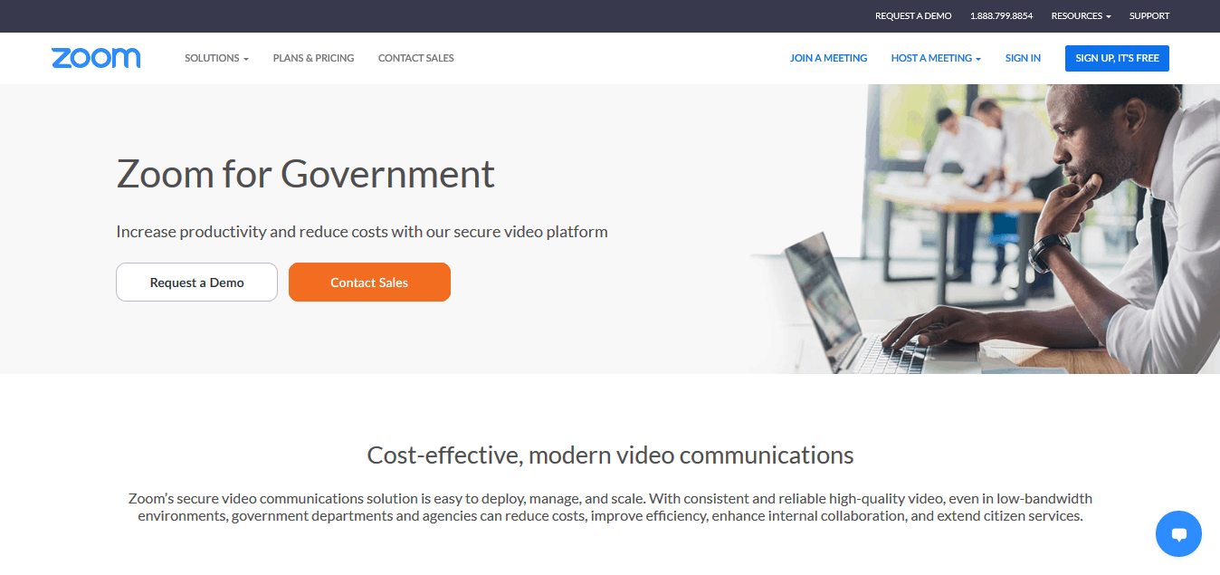 zoom government solutions
