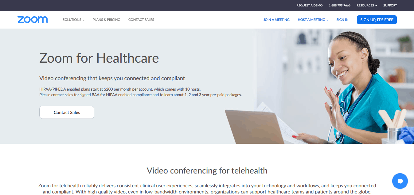 zoom healthcare solutions