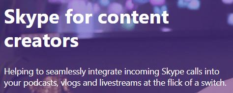 skype content creators