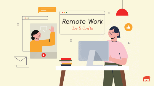 remote work dos and don'ts