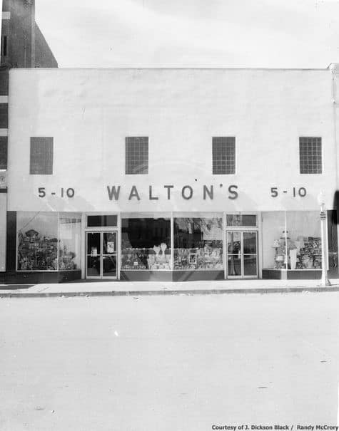 walton 5 and 10 history of walmart