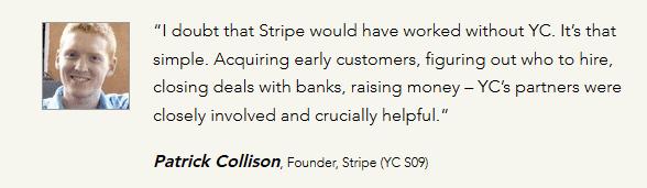 stripe success founder