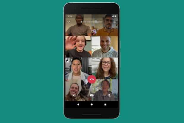 whatsapp group video