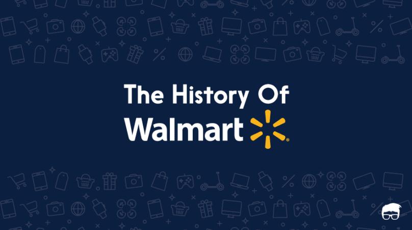 history of walmart