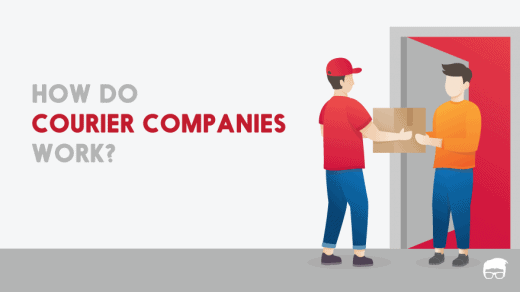 how do courier companies work