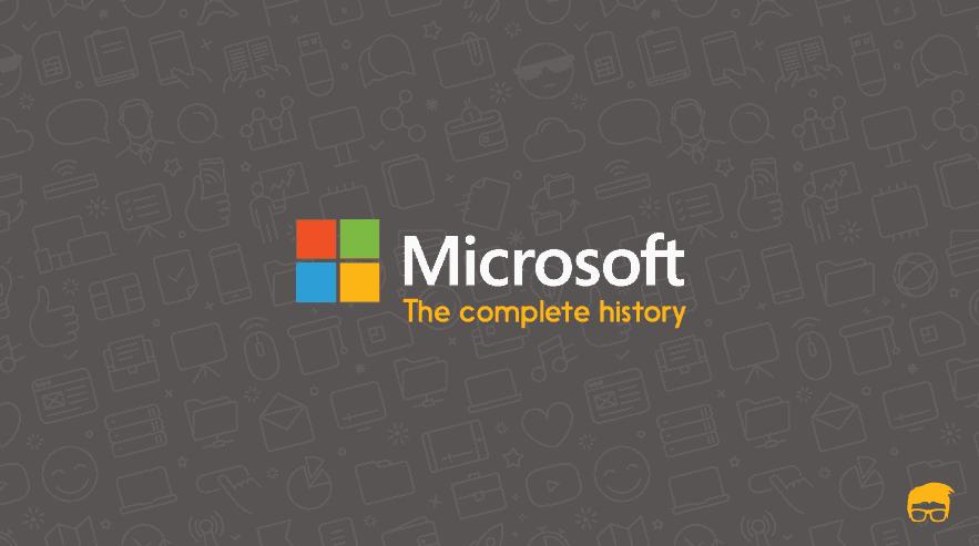 history of microsoft