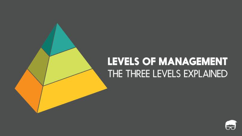 3 levels of management
