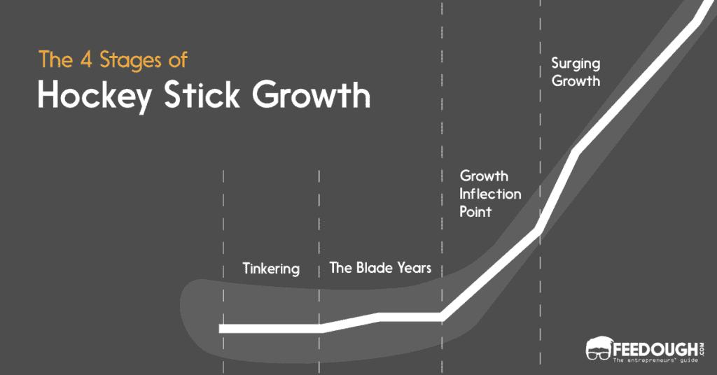 etapas de crecimiento del palo de hockey