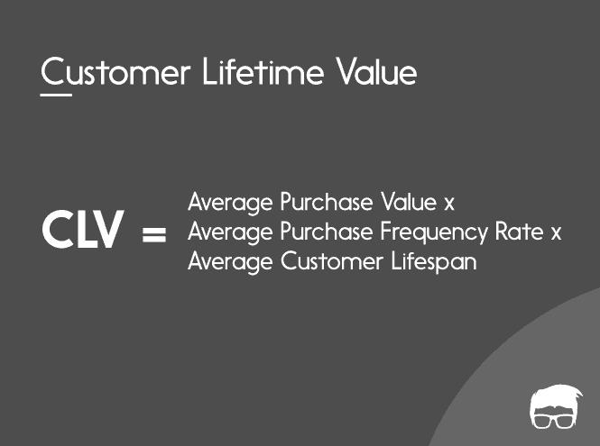 formule de valeur à vie du client