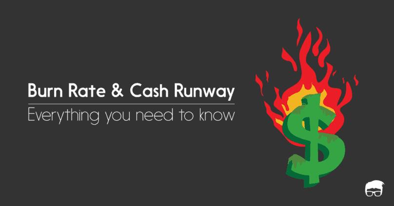 burn rate cash runway startup
