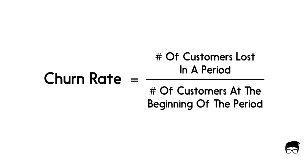 fórmula de tasa de deserción