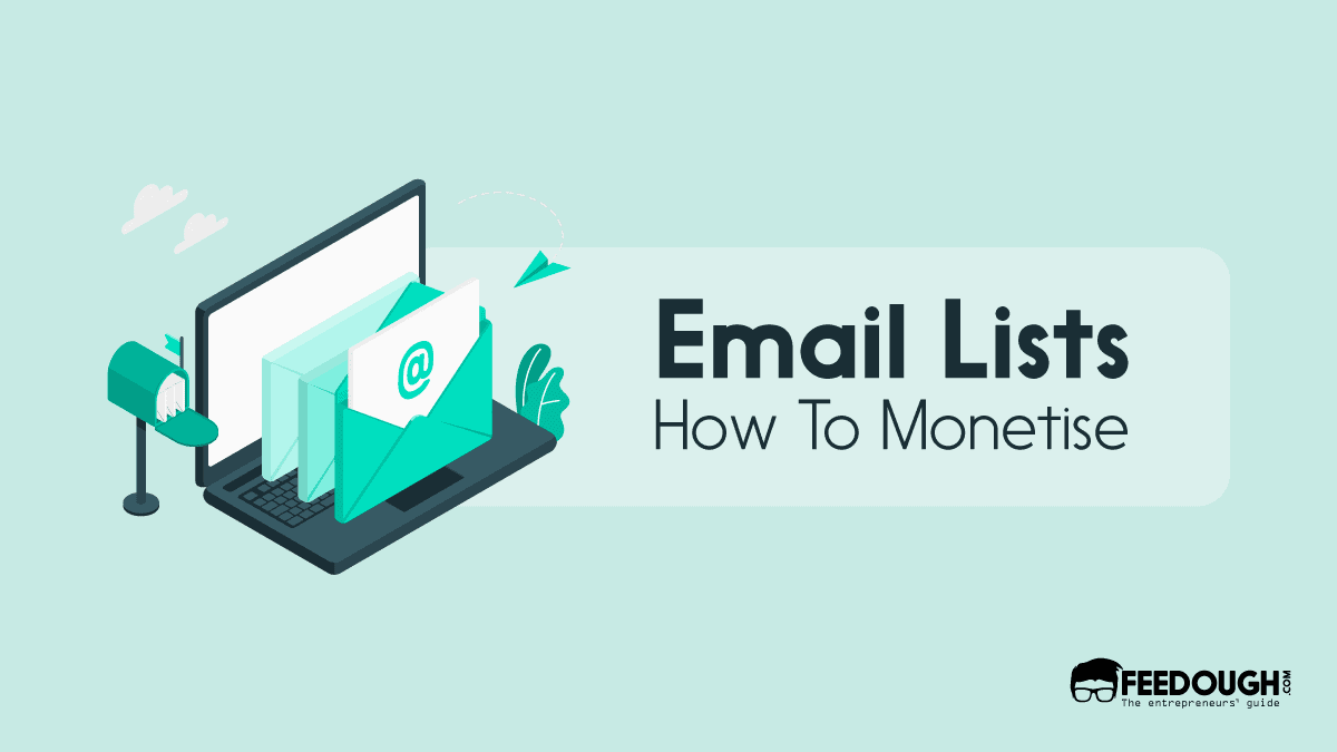 email list monetisation