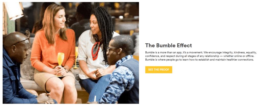 bumble value proposition