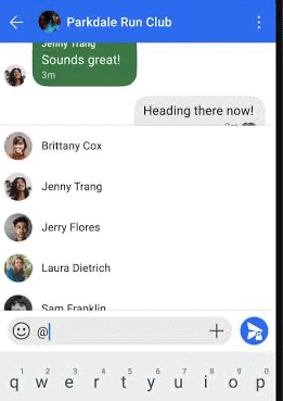 signal group chats
