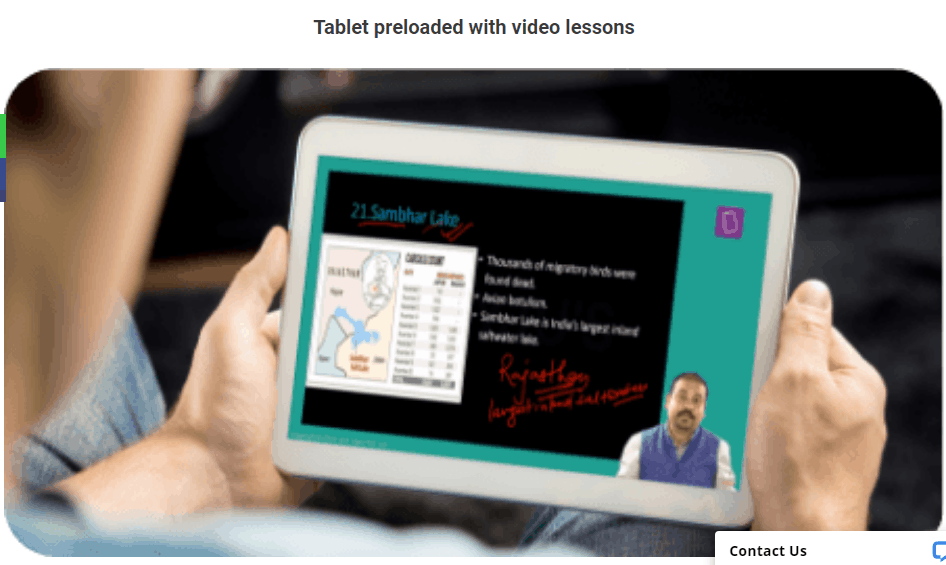 byju's tablet
