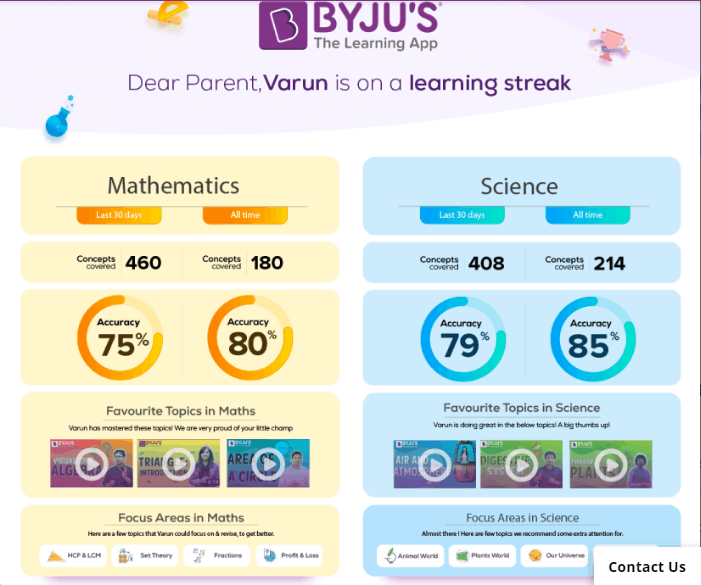 How Byju's operate
