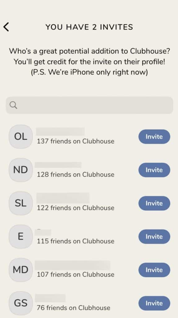 Clubhouse customer acquisition strategies